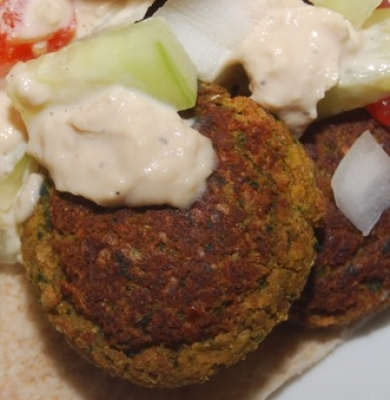 No Fry Falafel