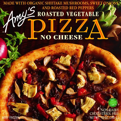Amy's No Cheese Pizza