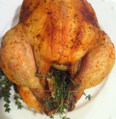 Easy Slow Roasted Chicken