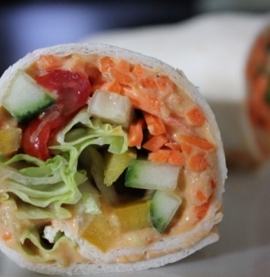 Hummus & Veggie Wrap
