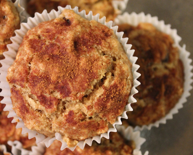 ... Healthy Dairy Free Recipes & Products » Applesauce Oatmeal Muffins