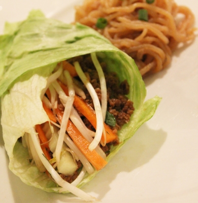 Vegan Thai Lettuce Wraps