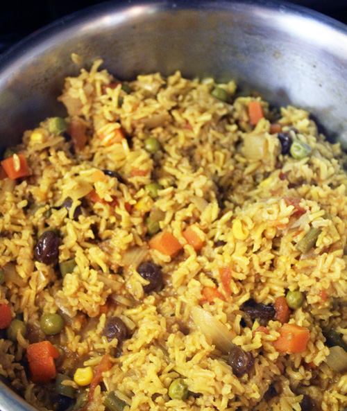 Vegetably Biryani