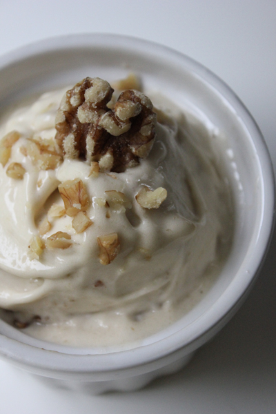 Maple Walnut Dairy Free Ice Cream