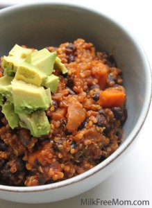 Vegan Quinoa &amp; Sweet Potato Chili