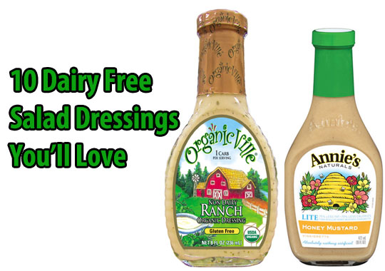 Dairy Free Salad Dressings You'll Love