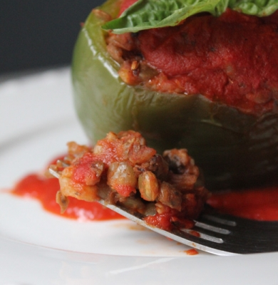 Stuffed Cabbage With Quinoa + Roasted Sweet Potato Recipe ...