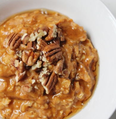 Pumpkin Flax Oatmeal
