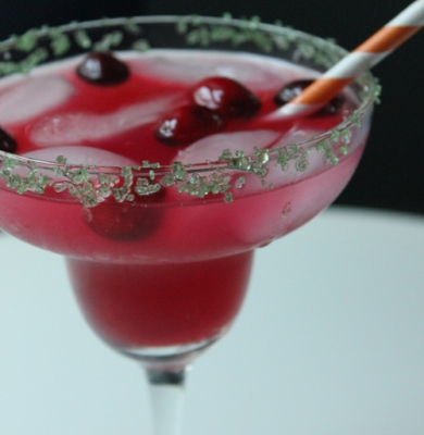 Skinny Cranberry Margarita
