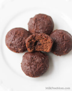 Vegan Brownie Bites