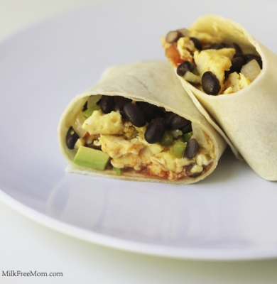 Dairy Free Breakfast Burrito