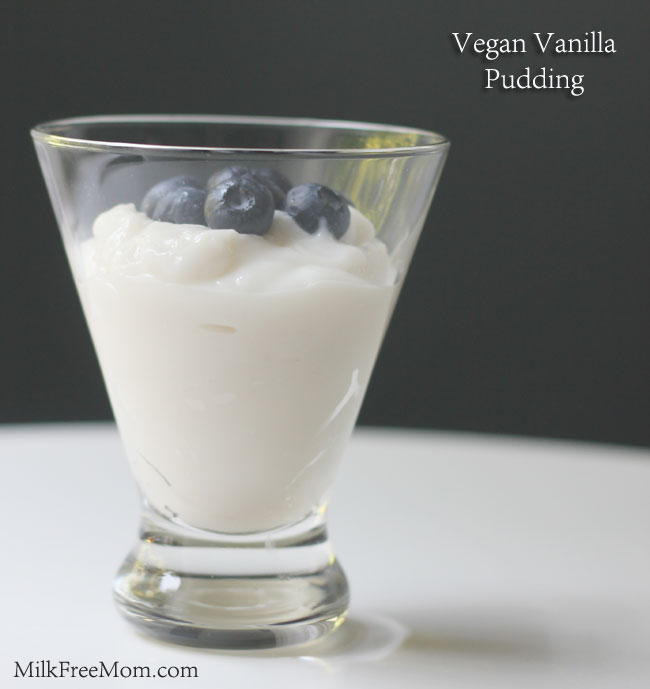 Vegan Pudding Vanilla