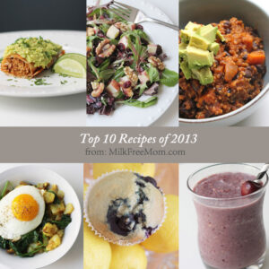 top ten milk free 2013 recipes