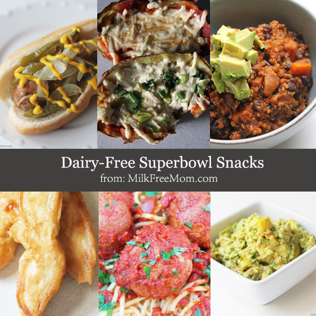 Dairy-Free Superbowl Snacks