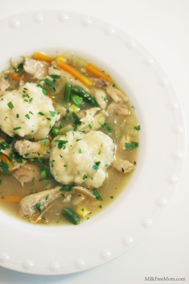 Dairy Free Chicken And Dumplings