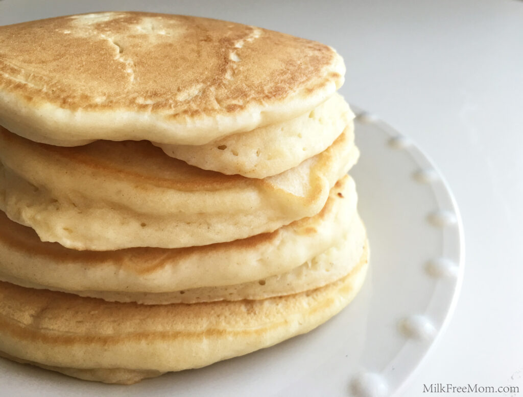 Fluffy Dairy-Free Pancakes
