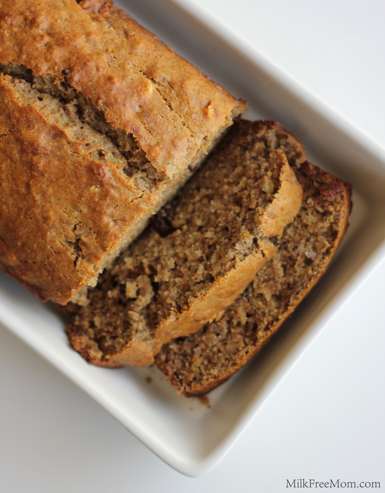 Dairy-Free Banana Raisin Nut Bread – Milk Free Mom