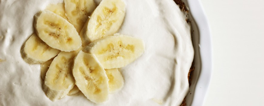 Dairy-Free Banana Pudding Pie