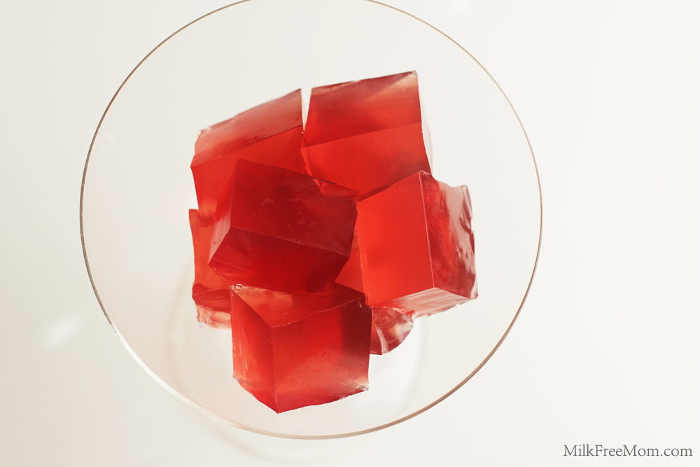 Healthier Jello Dairy and Dye Free