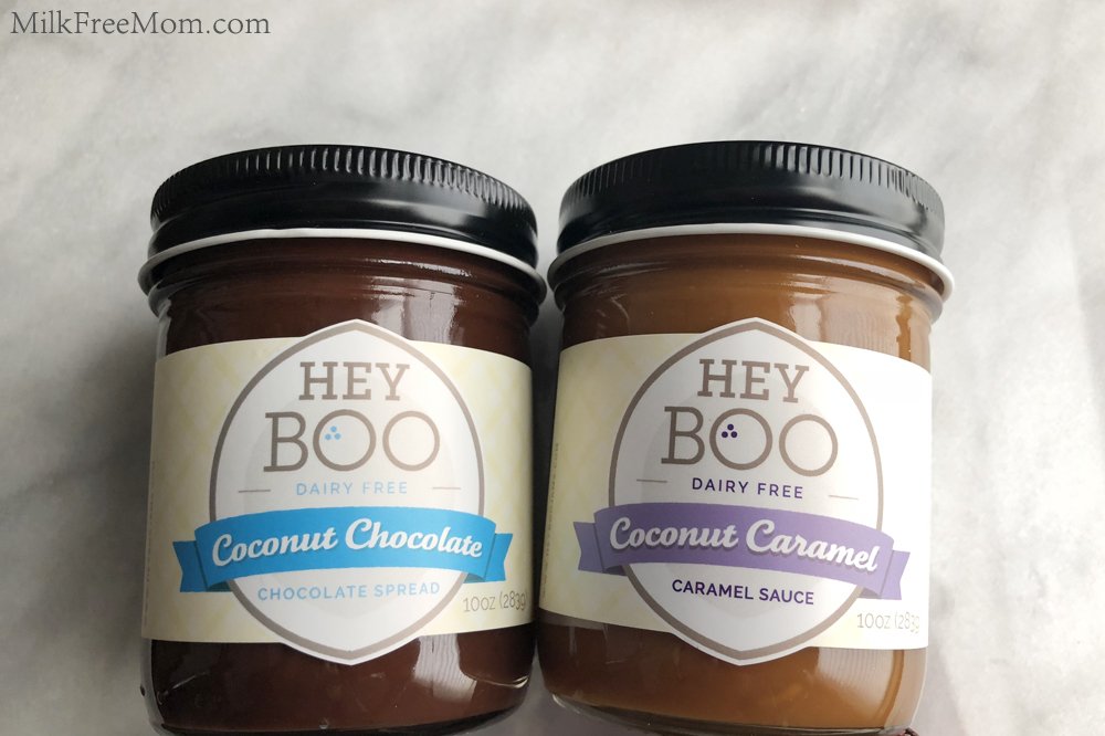 Hey Boo Dairy-Free Caramel and Chocolate Spread