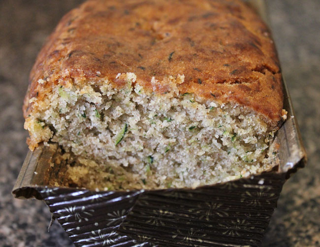 Zucchini Bread from Sweet Alexis Bakery