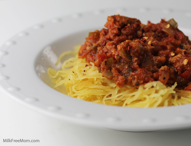 Spaghetti Squash Goulash