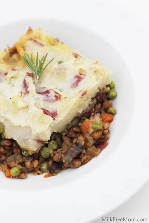 Vegan Sheperds Pie with Lentils