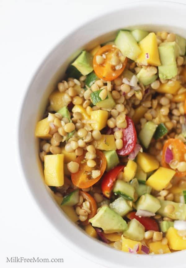 Tropical Lentil Salad