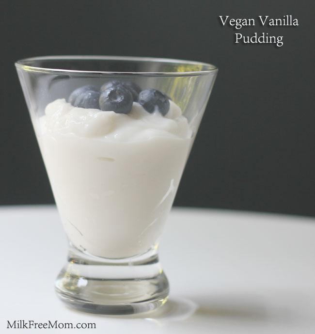 Vegan Pudding Vanilla
