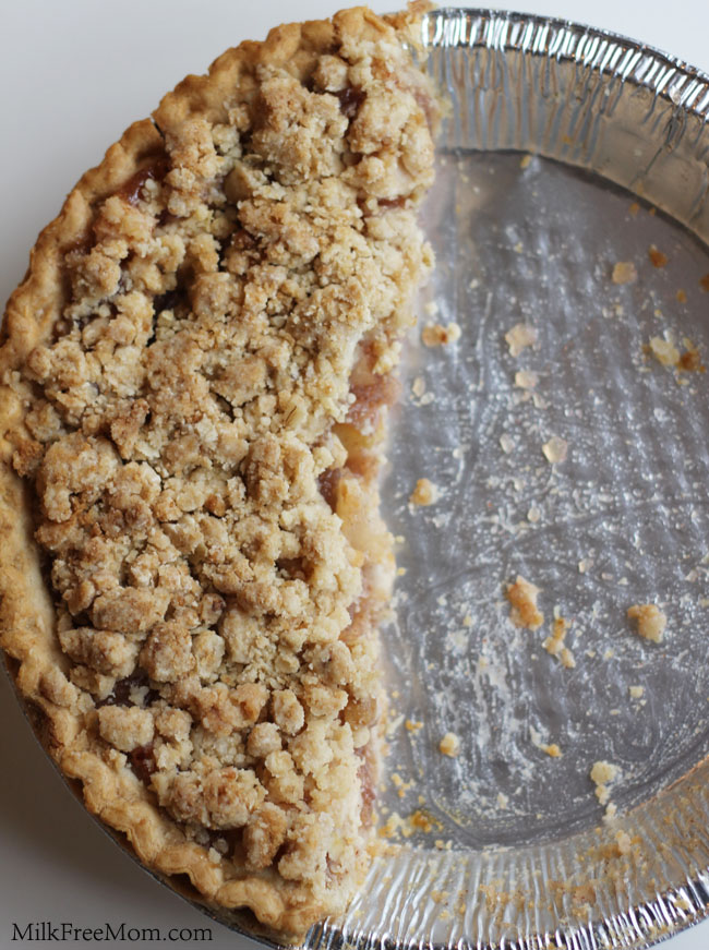 Apple Crumb Pie Topping