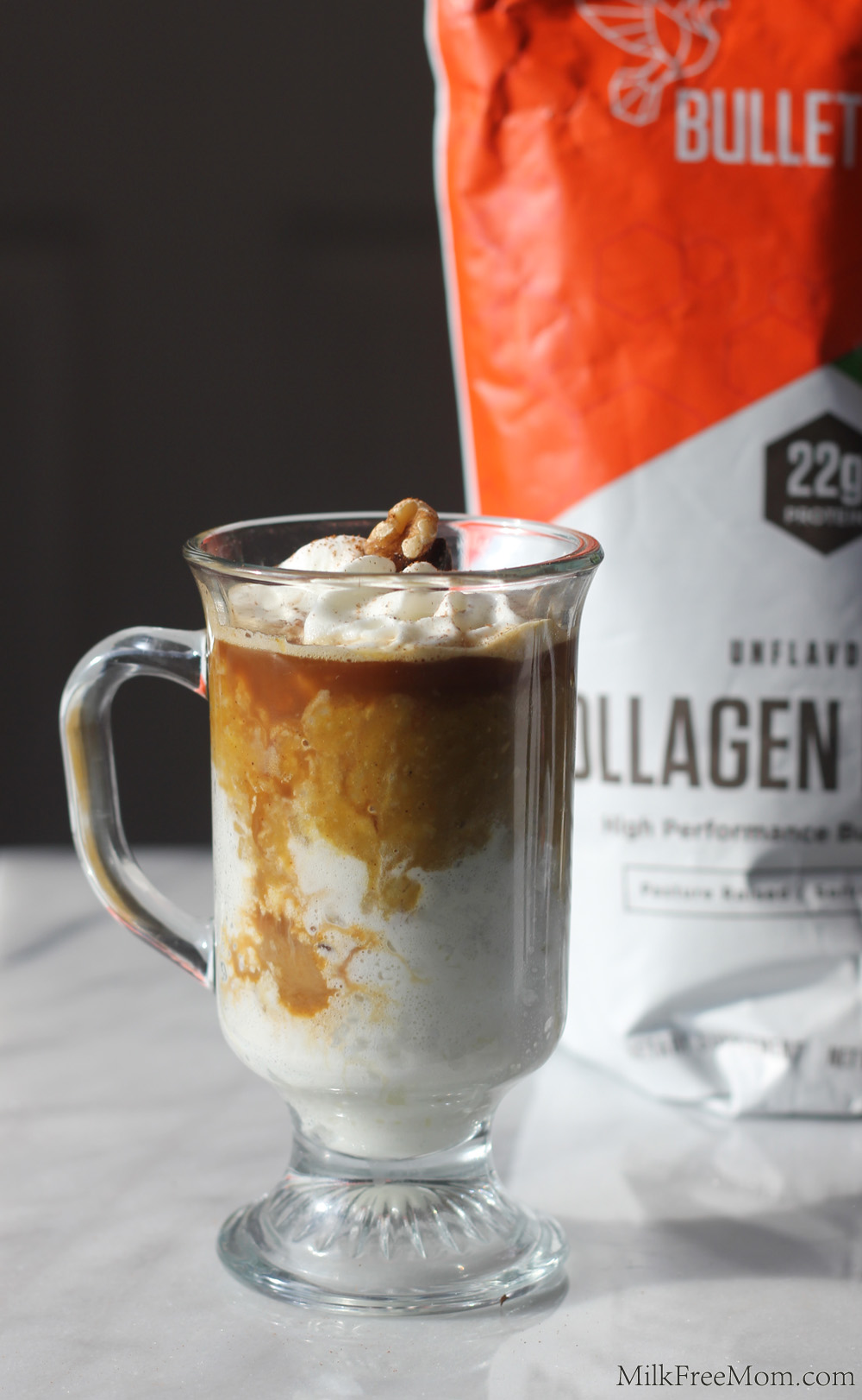 Bulletproof Collagen Pumpkin Parfait