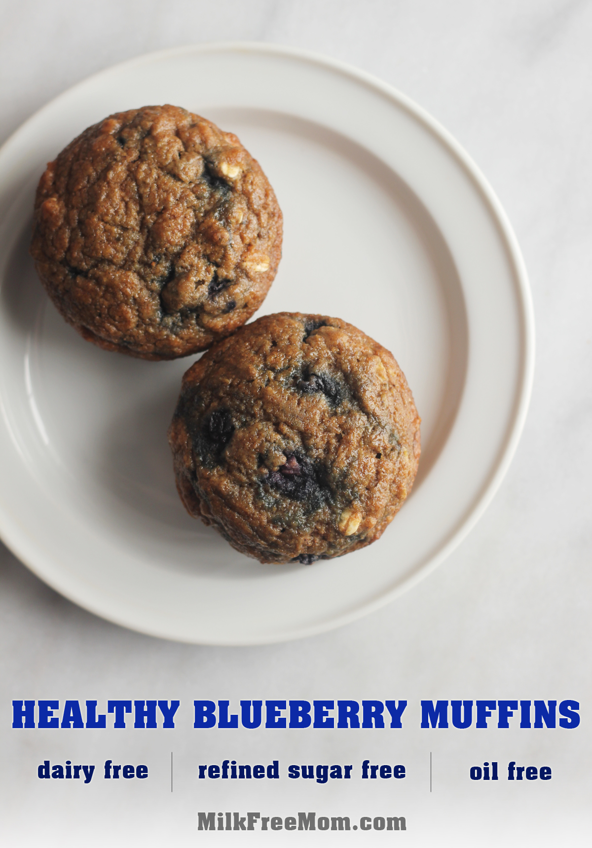 Whole Wheat Blueberry Muffin Pinterest
