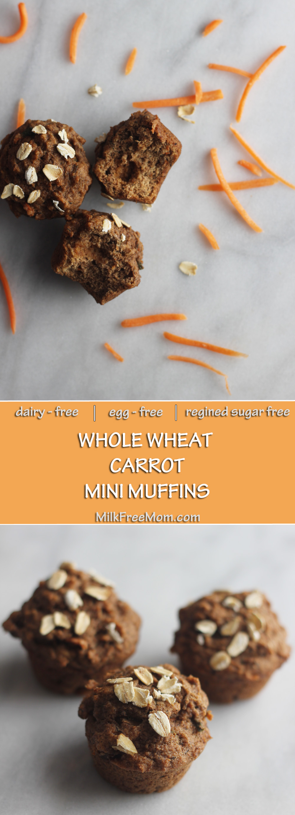 Carrot Mini Muffins Pinterest