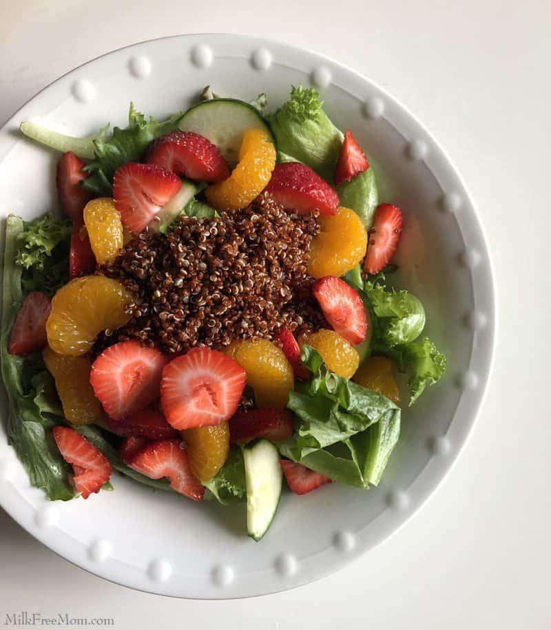 Dairy Free Citrus Salad With Quinoa