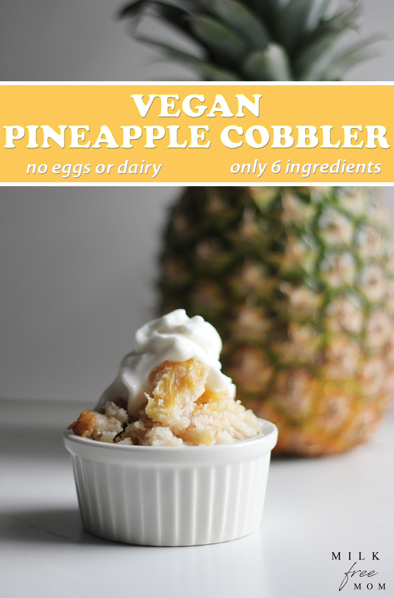 Vegan Pineapple Cobbler Pin