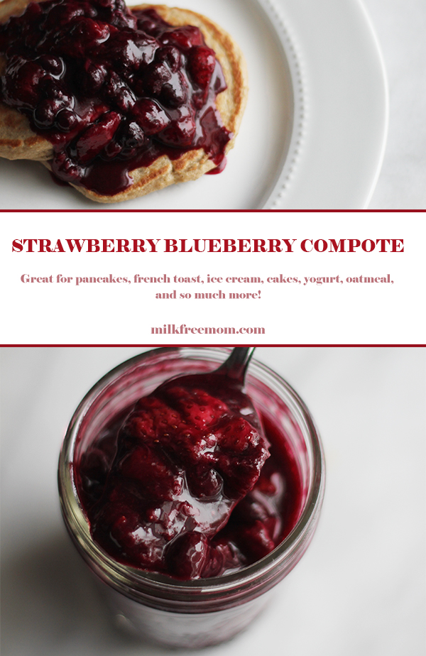 Strawberry Blueberry Compote